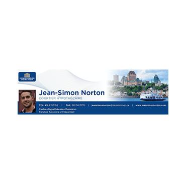 Jean-Simon Norton Courtier Hypothécaire logo