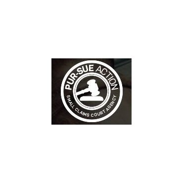 PUR-SUE ACTION - Small Claims Court Agency logo