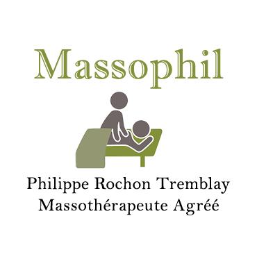 Massophil - Philippe Rochon Tremblay - Massothérapeute Agréé logo