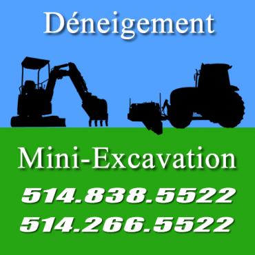 Mini-Excavation et Déneigement Quinn logo