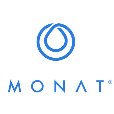Hair with Monat logo