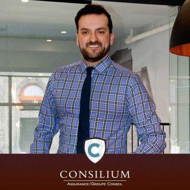 Joey Leduc- Conseiller en Sécurité Financière - Groupe Consilium logo