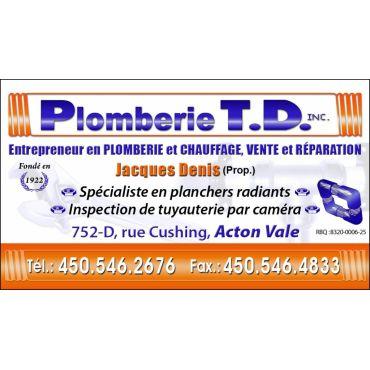 Plomberie TD Inc. logo