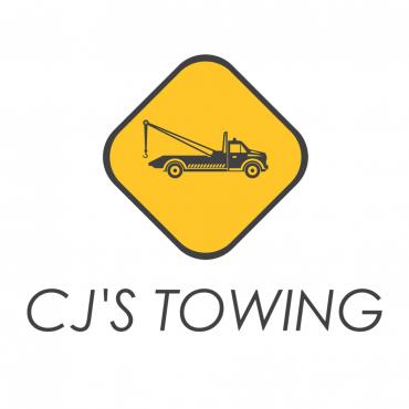 CJ's Towing logo