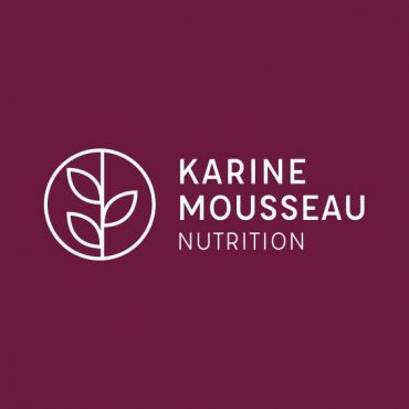 Karine Mousseau Diététiste-Nutritionniste logo
