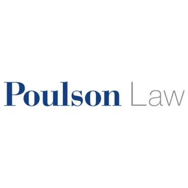 Poulson Law logo