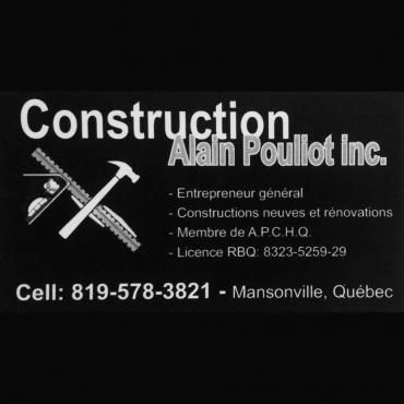 Construction Alain Pouliot Inc. logo