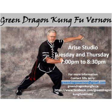 Green Dragon Kung Fu Vernon logo