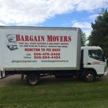 Bargain Movers logo
