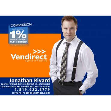 VENDIRECT | Jonathan Rivard | Courtier Immobilier Commercial & Résidential logo