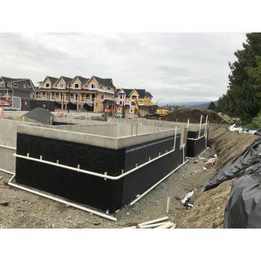 Waterproofing and perimeter drain