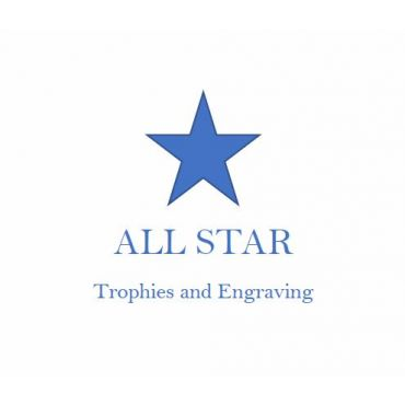 All Star Trophies and Engraving logo