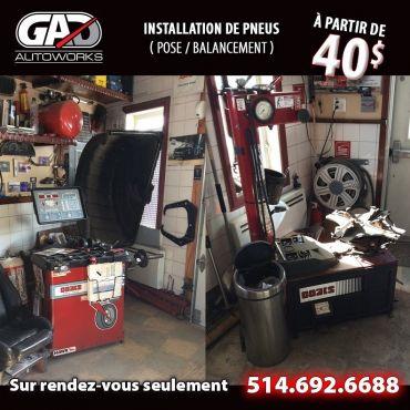 Garage GAD AutoWorks logo