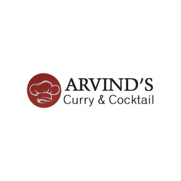 Arvind's Curry & Cocktail logo