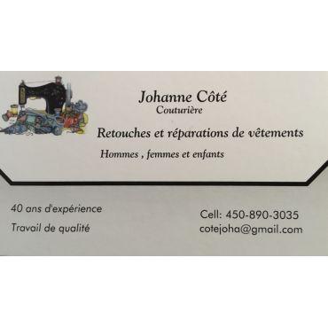 Johanne Côté Couturière PROFILE.logo