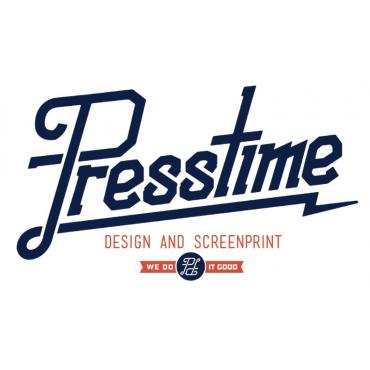 Presstime Design & Screenprint PROFILE.logo