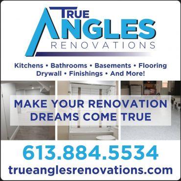 True Angles Renovations logo