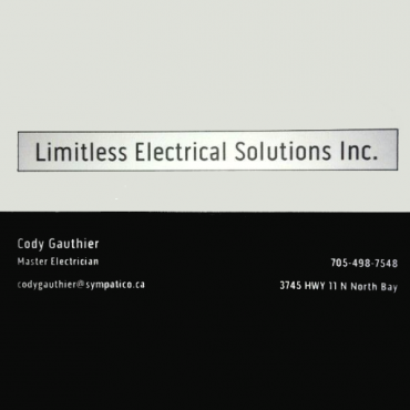Limitless Electrical Solutions PROFILE.logo