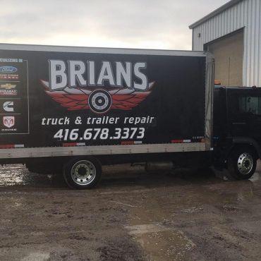 Brian's Truck and Trailer Repairs logo