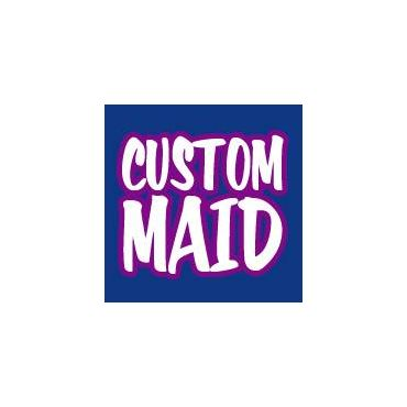 Custom Maid Cleaning logo