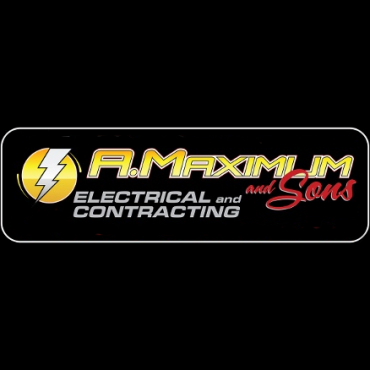 A Maximum and Sons Electrical Contracting logo