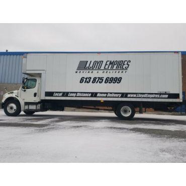 Lloyd Empires Residential Moving Truck