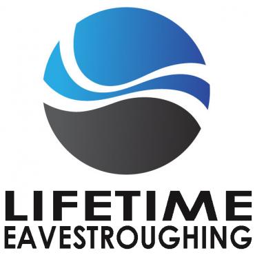 Lifetime Eavestroughing logo