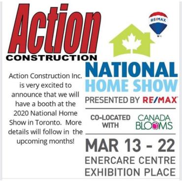 Action Construction Inc. logo