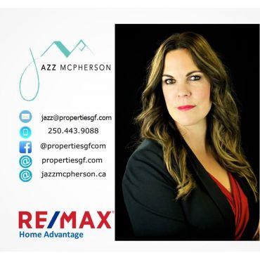 Jazz McPherson at Remax Home Advantage logo