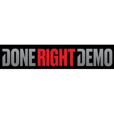 Demolition Contractors Vancouver - Done Right Demo PROFILE.logo