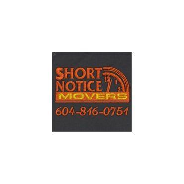 Short Notice Movers logo