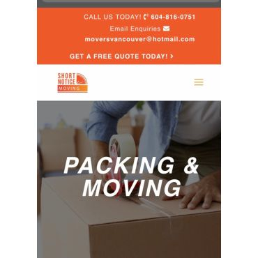 Packing & Moving Companies