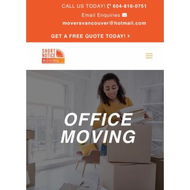 Office Movers Vancouver Surrey BC