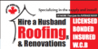 Hire A Husband Roofing Inc PROFILE.logo