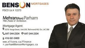 Benson Mortgages