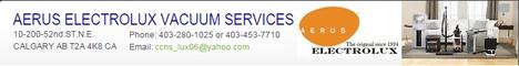 CCNS Sales & Service Ltd. o/a Aerus Electrolux Vacuum Services Calgary