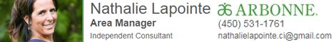 Nathalie Lapointe Conseillere Sante Beaute Mieux Etre
