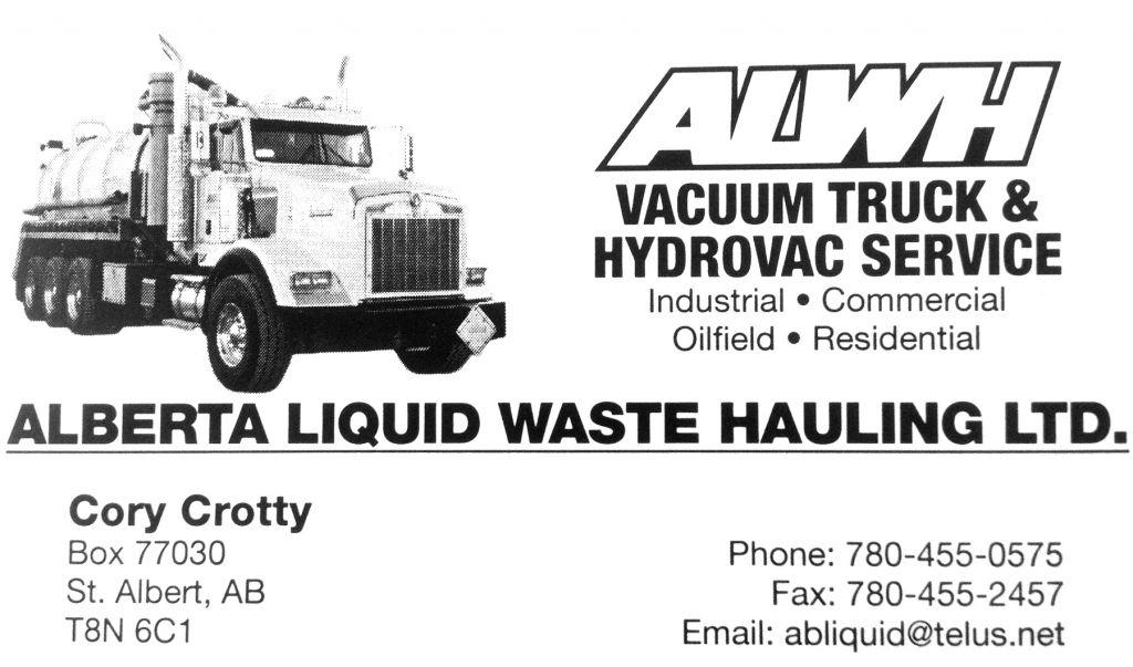 Alberta Liquid Waste Hauling
