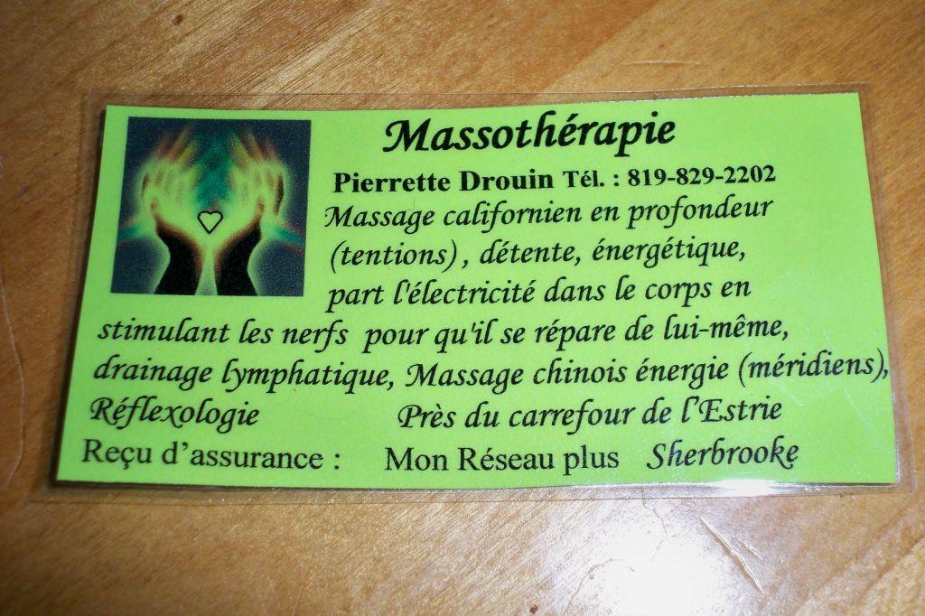 massage sherbrooke estrie