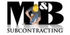 M&B Subcontracting PROFILE.logo