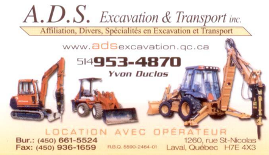 A.D.S. Excavation & Transport Inc