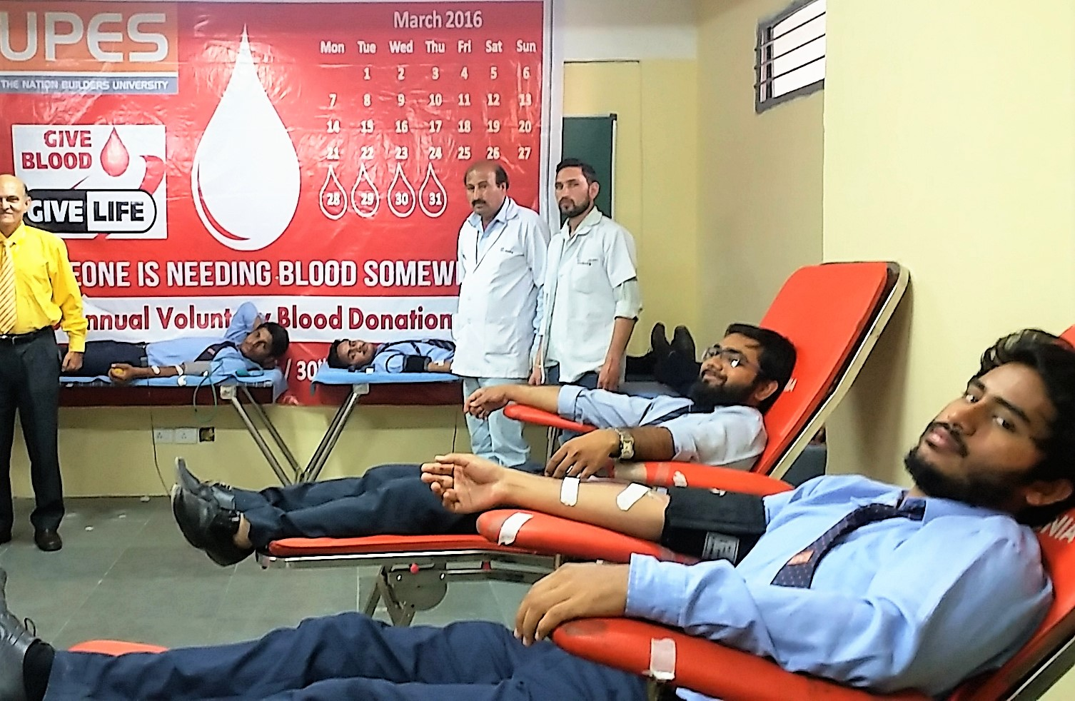 UPES Blood Donation Camp