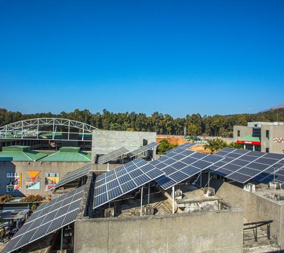 UPES Solar Panels