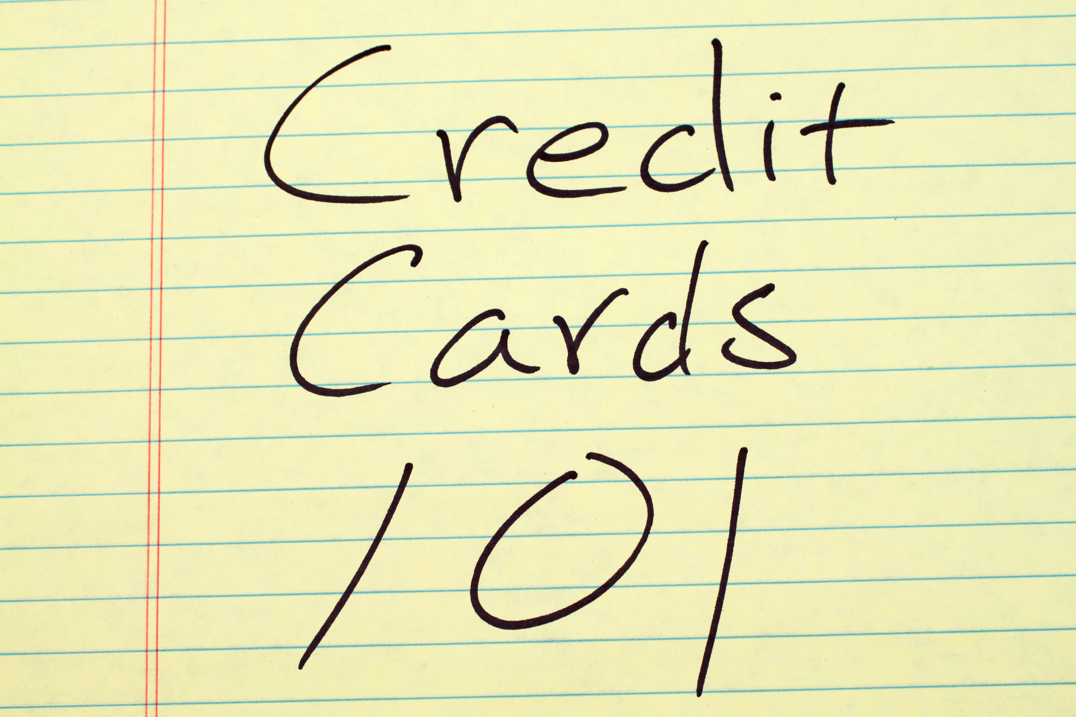 The 411 on Getting Your First Credit Card