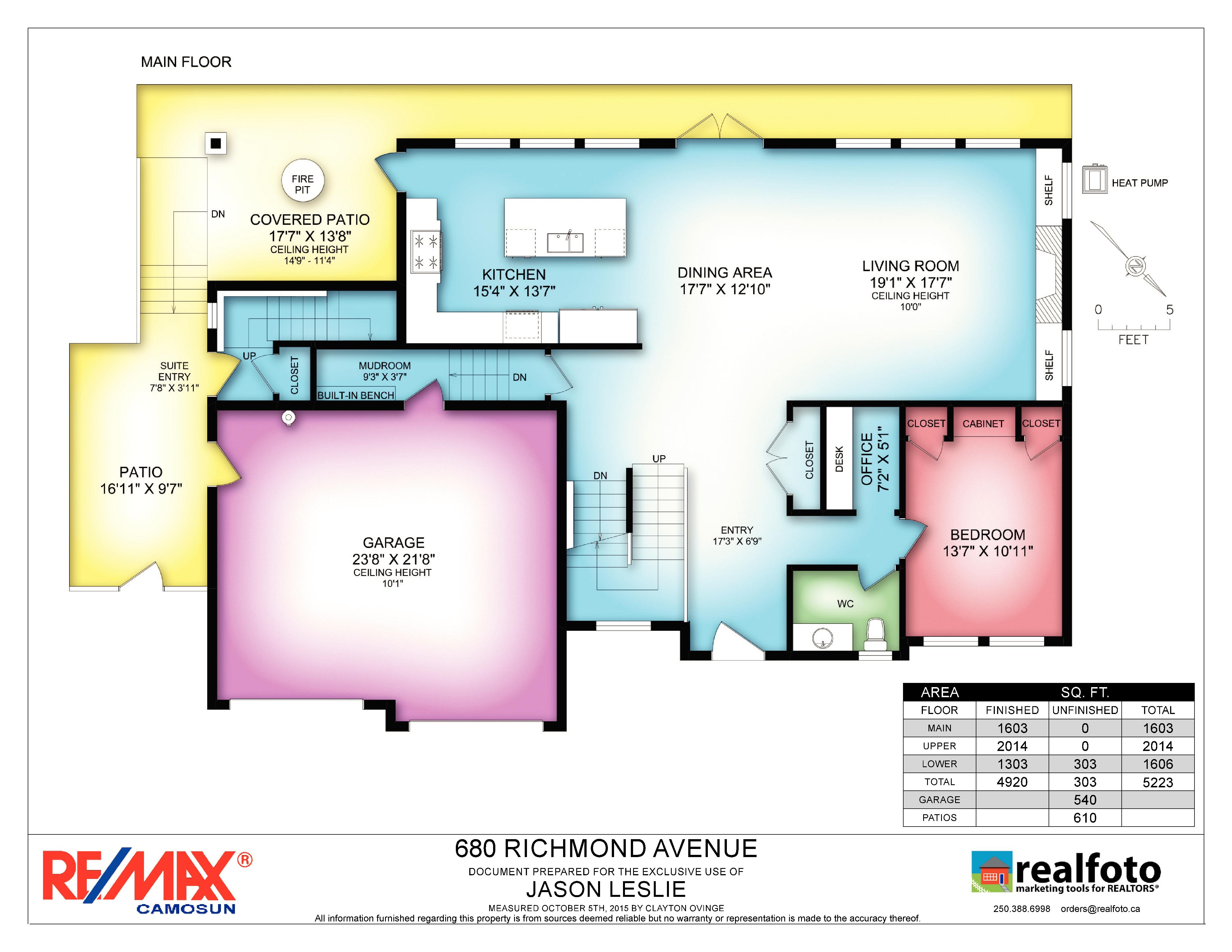 Floor plans for 680 richmond ave 0