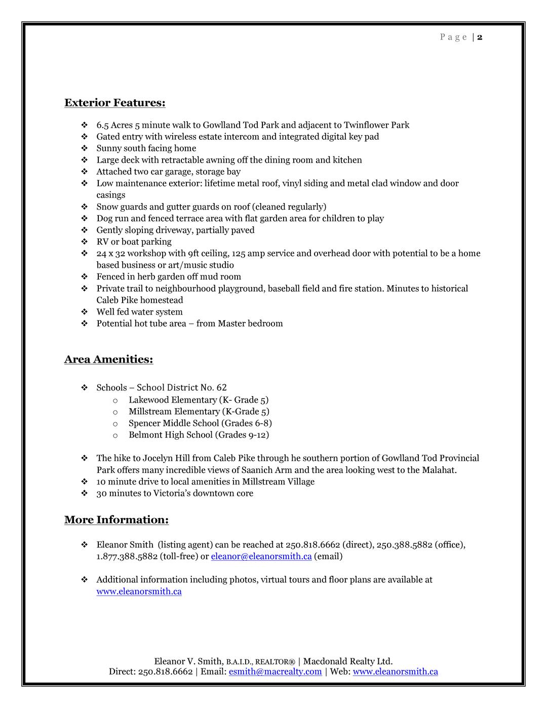 Feature sheet 720 caleb pike rd 1