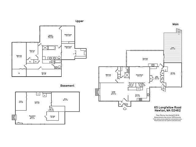 65 Longfellow Road, Newton - Floor plan