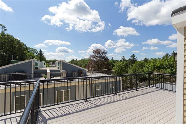 855 Lagrange Street, West Roxbury - Roof Deck