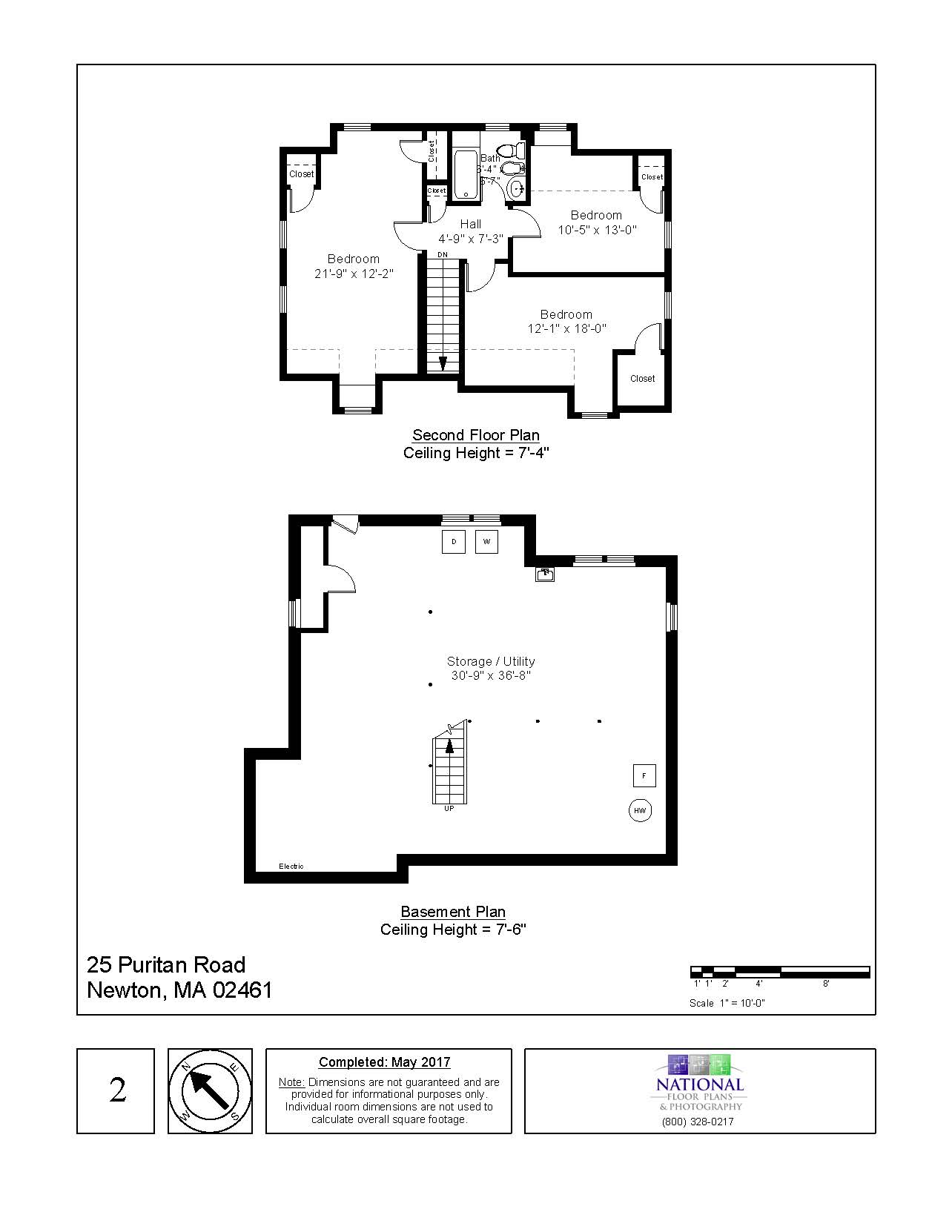 25 Puritan Road, Newton - Floor Plan