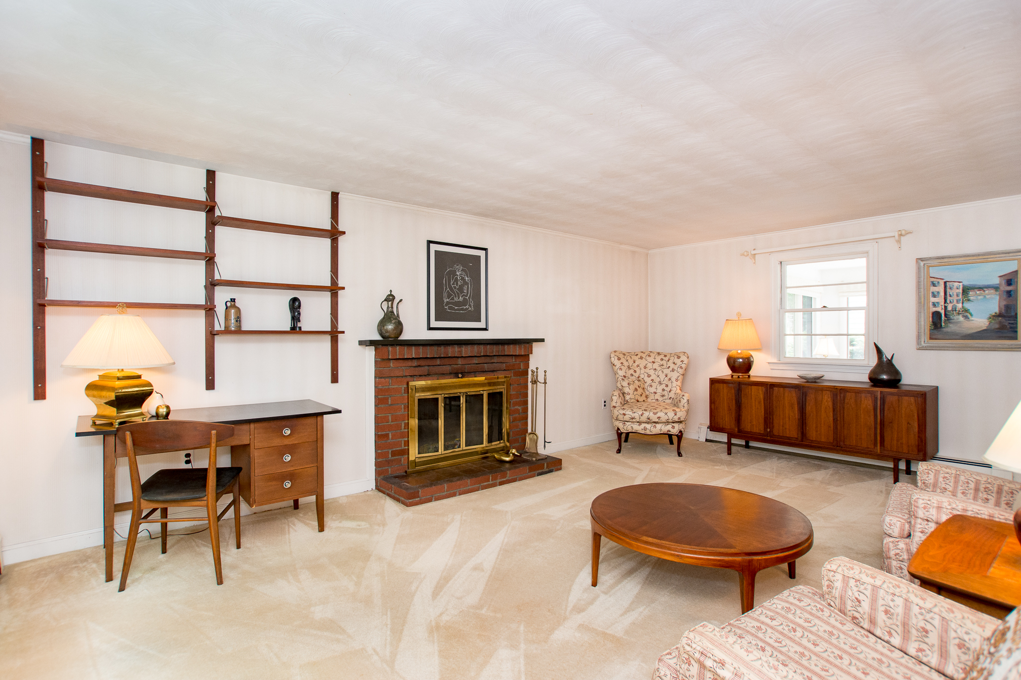 84 Oak Street, Needham, MA - Living Room